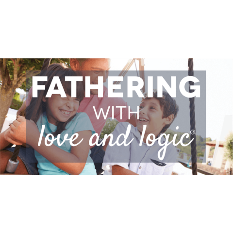 Fathering with Love and Logic logo, parenting classes offered at Switchpoint community resource center